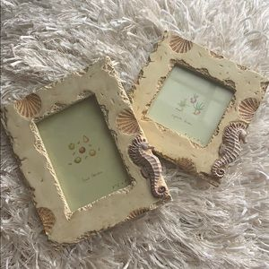 Other - Seashell Frames 3 1/2x5 and 3 1/2 x 3 1/2.